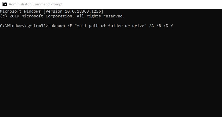 Access root folder in Command Prompt