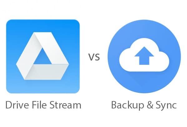 File Stream Backup Sync Banner