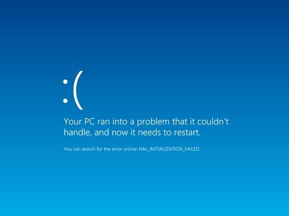 Windows Unbootable Error