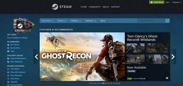 Steam Library Games