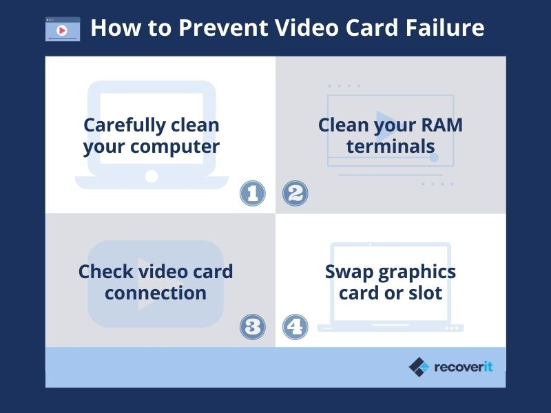 how to prevent video card errors