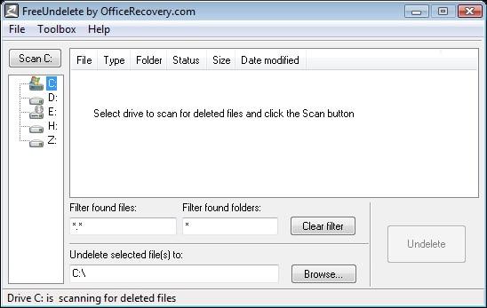 free undelete software