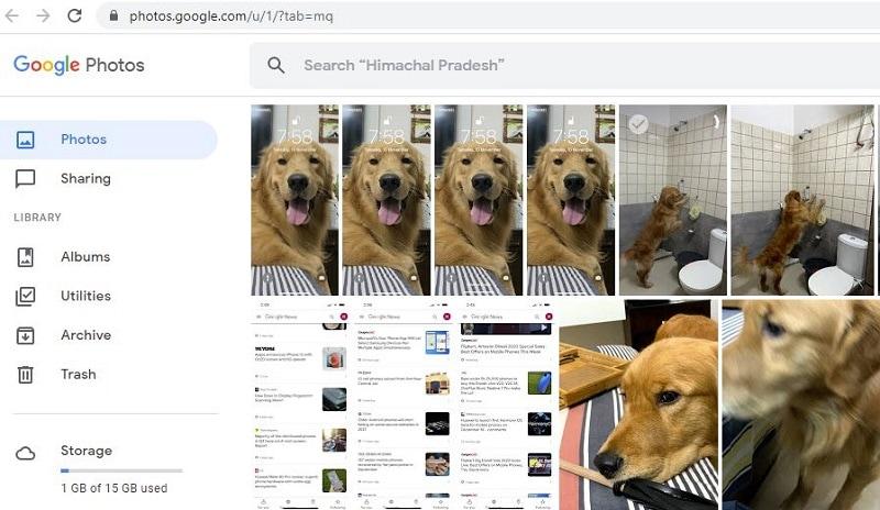 open photos in Google Photos