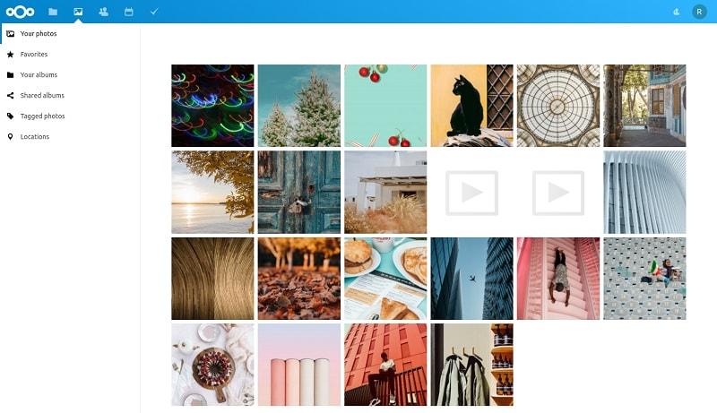 Nextcloud Photo Manager
