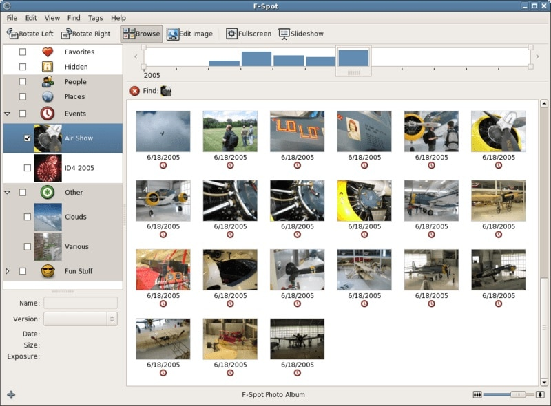 FSpot Photo Manager