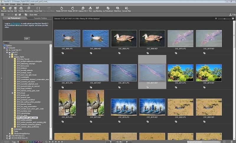 Nikon ViewNX Photo Manager