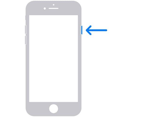 Restore iPhone Button