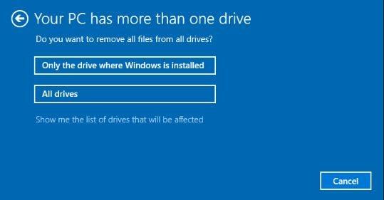Remove All Files Or Drive