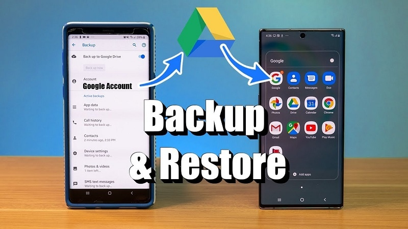 Backup and restore photos from Google Photos