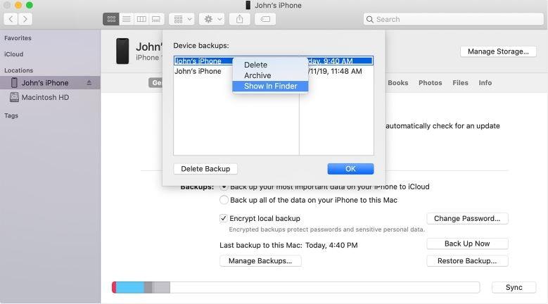 See iCloud Files on Mac