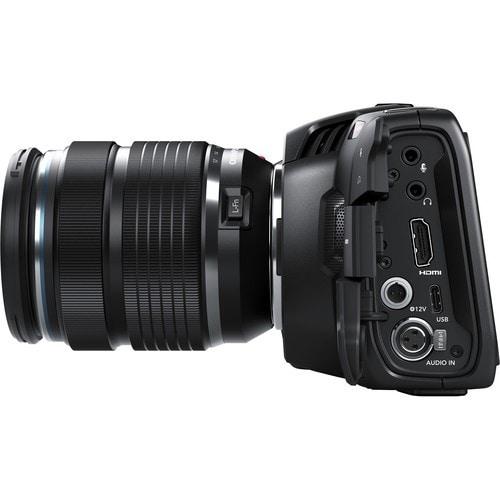 recursos principais da câmera blackmagic