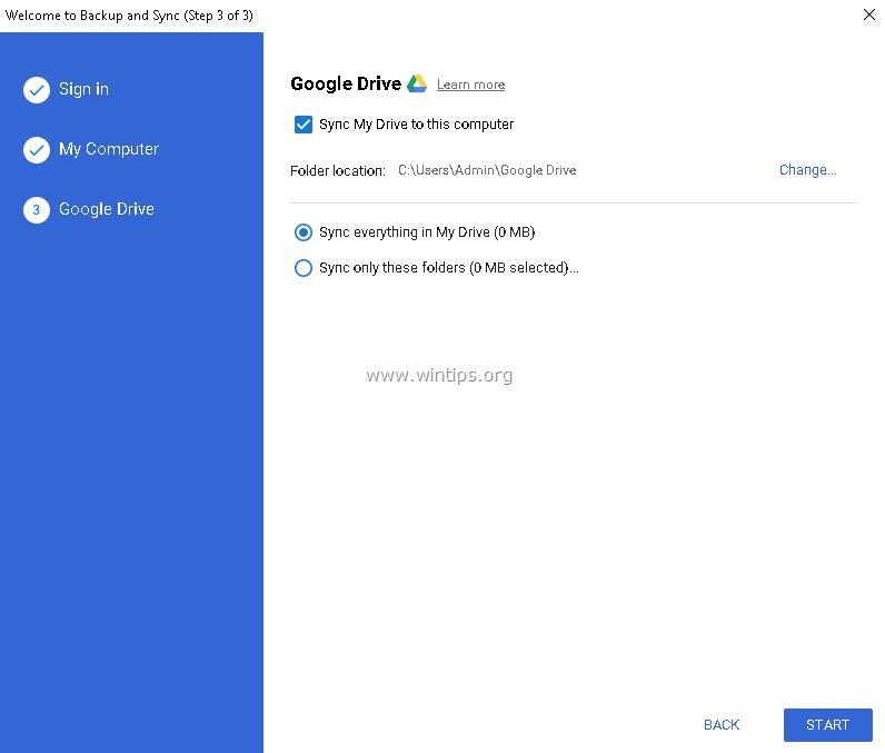 Sync Google photos to my device