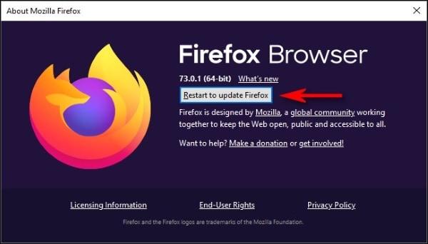 tap on restore my files option