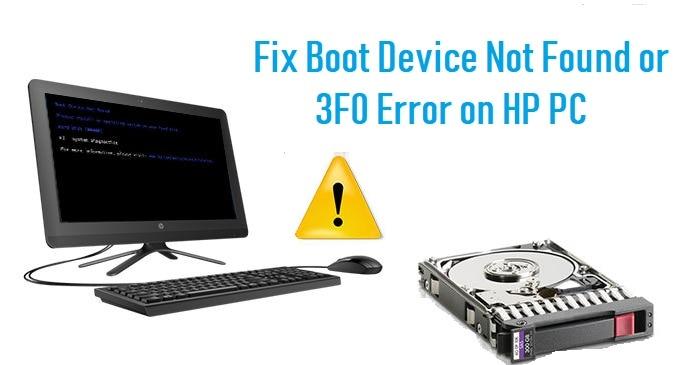 disk boot failure