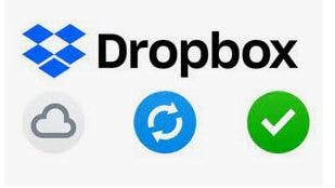 Dropbox Sync Banner