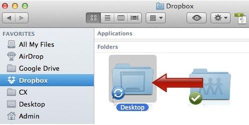 Sync Folder to Dropbox