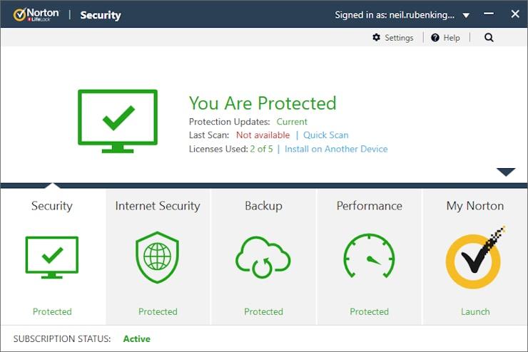 norton antivirus software provider