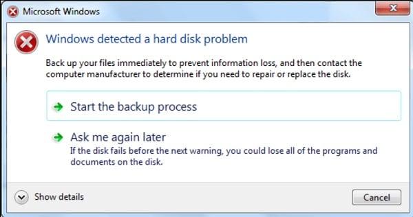 Logical Hard Drive Error