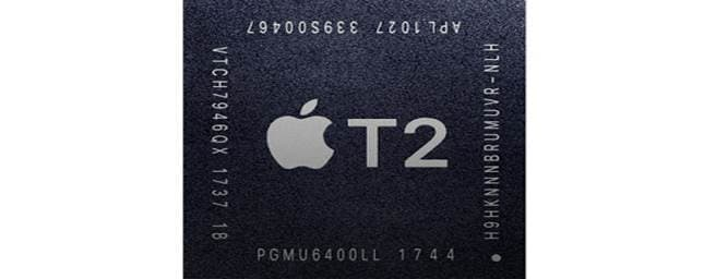 Storage by T2 chip