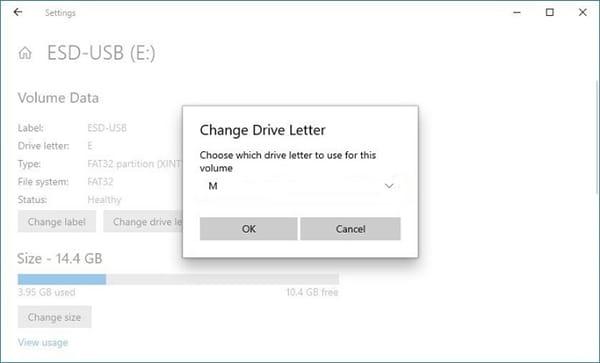 change drive letter image