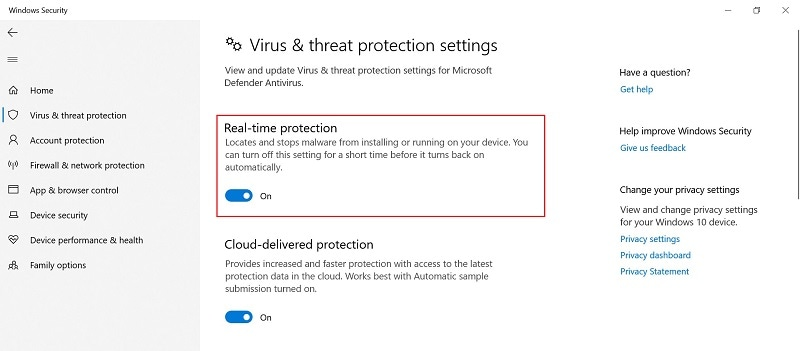 disable-real-time-protection