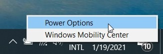 open  battery power options