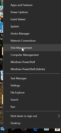 fix drive partition
