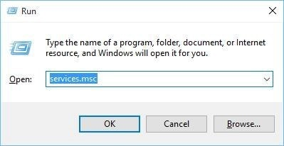 open service settings