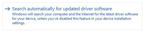 select the option of automatic updates