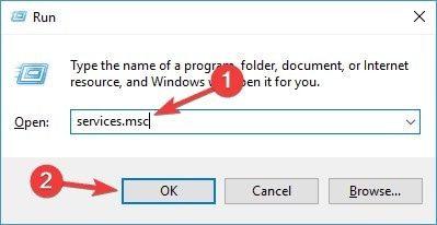 access windows services
