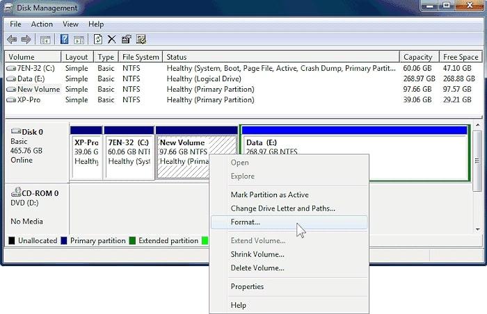 format-using-disk-management