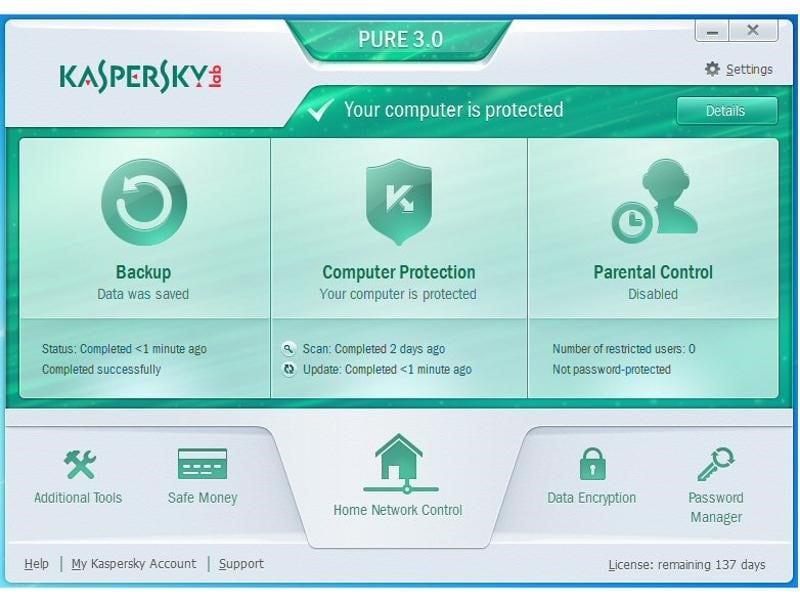 kaspersky free rescue disk antivirus