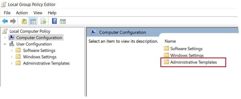 select-administrative-templates
