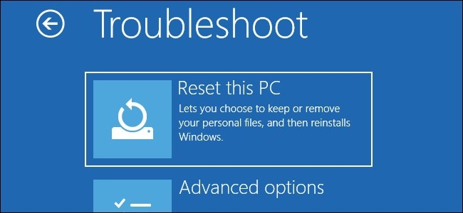 reset your pc now