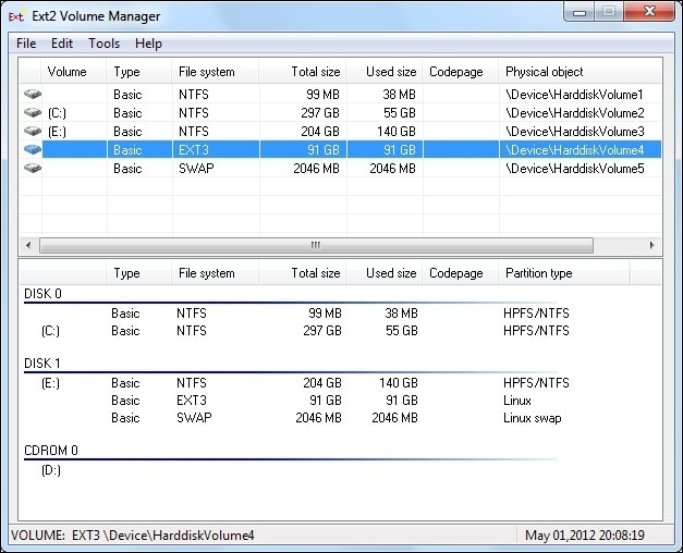 windows file system drive application