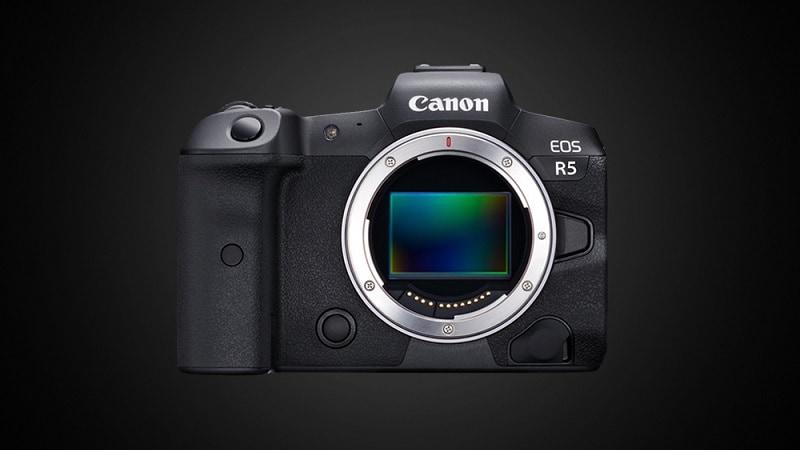 Canon EOS R5 8K Video Camera