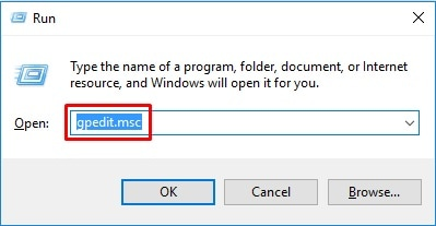 Open Group Policy in Windows
