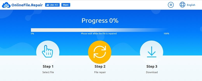 Online Word Repair Process