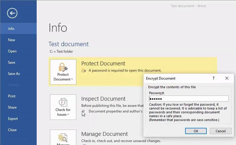 MS Word Remove Protection