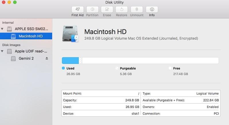 Mac Disk Utility Repair Disk