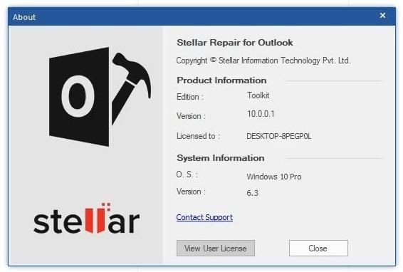 Stellar Outlook Repair Tool
