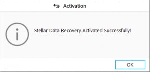 Stellar tool activation completed