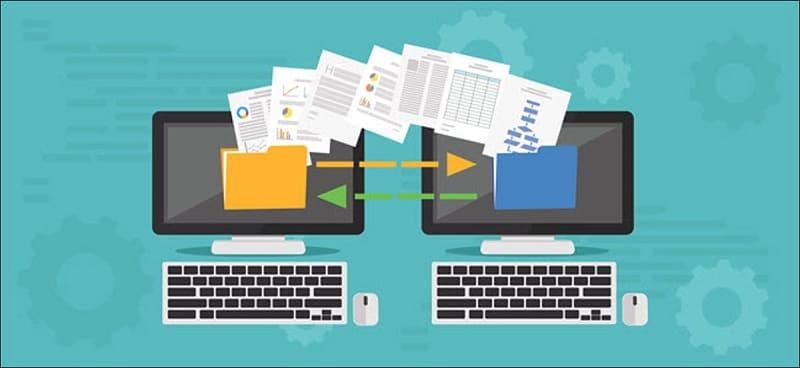 migration de fichiers
