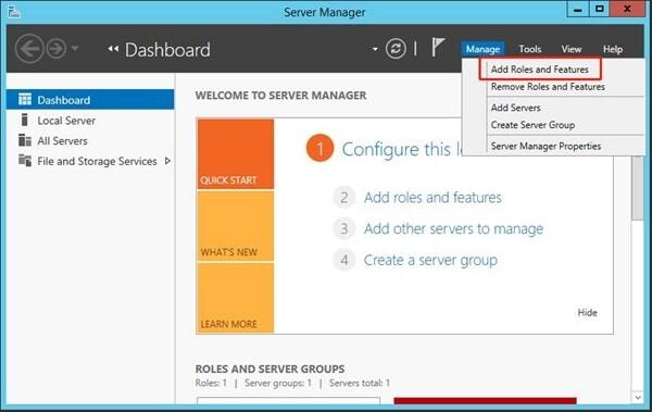 Install file server migration tool
