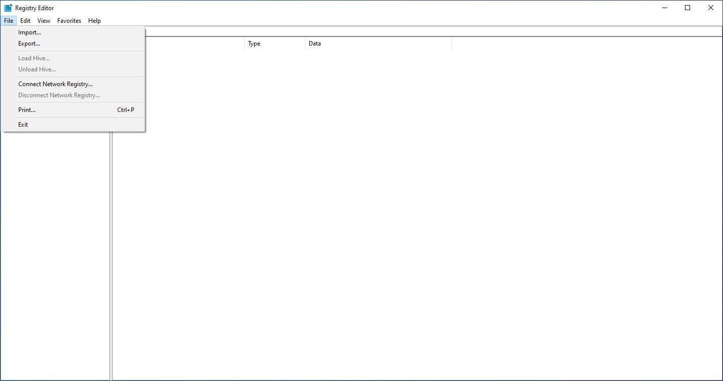 windows registry mmc