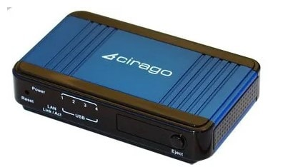 cirago nus1000 network usb storage link