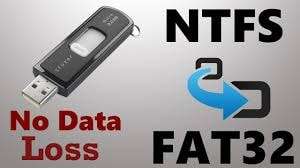 ntfs and fat32