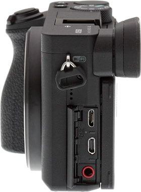 sony a6500 camera ports
