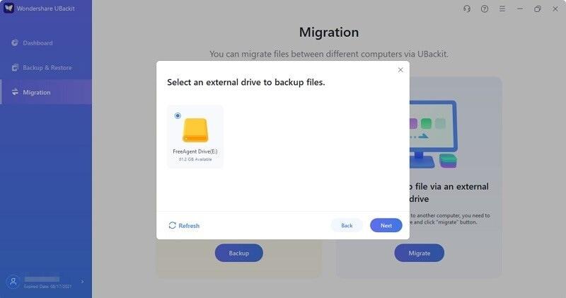 select external hard drive