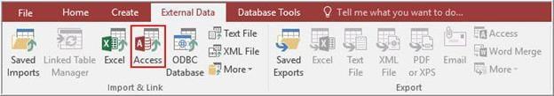 unrecognized database format issue